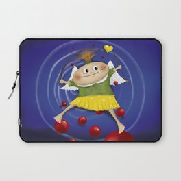 My little cupid.. Laptop Sleeve
