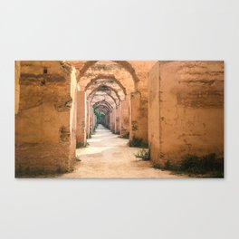 Ruins of the Royal Stables Canvas Print
