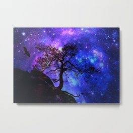 Into  the space Metal Print