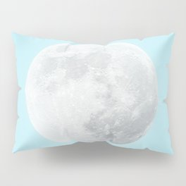 WHITE MOON + BLUE SKY Pillow Sham
