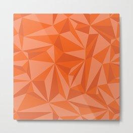 Abstract Geometric Pattern Seamless Metal Print