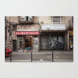 Raval song Canvas Print