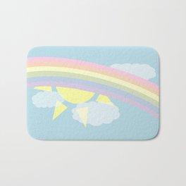 Pastel Rainbow Bath Mat