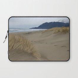 Nehalem Bay beach grass Laptop Sleeve