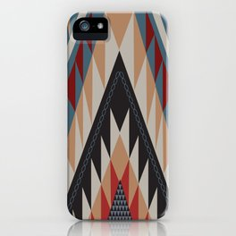 American Native Pattern No. 11 iPhone Case