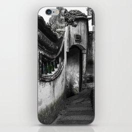 colorless shanghai 8 iPhone Skin
