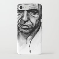 frank sinatra iPhone & iPod Cases featuring Only the Lonely - Frank Sinatra by Tiffany Tate