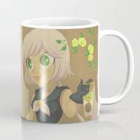 transistor Mugs featuring Retro Sailor Star Healer by Crimson Pumpkin