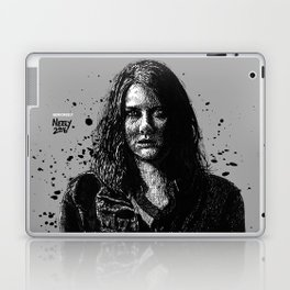 Badass Maggie Greene as played by Lauren Cohan on the Walking Dead Laptop & iPad Skin