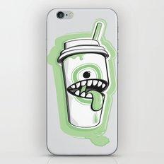 Latte Ghost iPhone & iPod Skin
