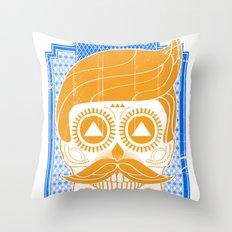 LA BUENA SUERTE II Throw Pillow