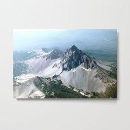 Mount Thielsen, Oregon Metal Print