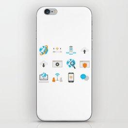 Internet Communication iPhone Skin