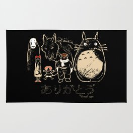 Tribute for Miyazaki Rug