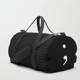 Semicolon Duffle Bag