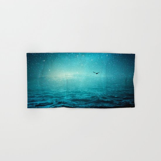 the sea and the universe Hand & Bath Towel