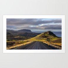 Saefellsjokull Iceland Art Print