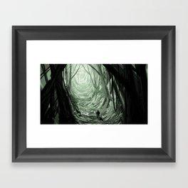 Forest walker  Framed Art Print