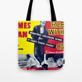 Rebel Without A Cause Tote Bag