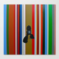 mega man Canvas Prints featuring MEGA MAN by SCOTT BELCASTRO