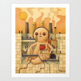 Feelings Factory Art Print