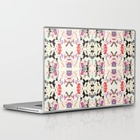 rorschach Laptop & iPad Skins featuring Rorschach by Zephyr