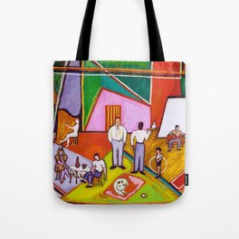 African American Masterpiece 'The Time of Your Life' by Beauford Delaney Tote Bag
