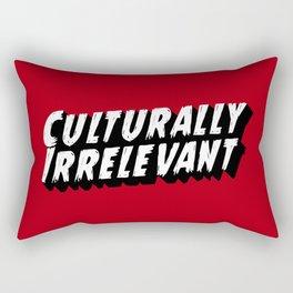 Culturally Irrelevant Fan Gear Rectangular Pillow