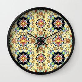 Rococo Starburst Wall Clock