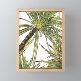 Paradise Palm Framed Mini Art Print