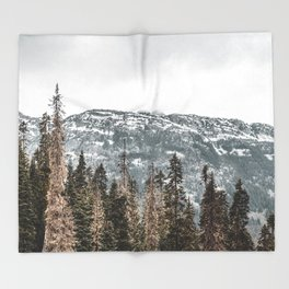 Sawtooth Canopy Throw Blanket