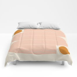 Abstraction_SUN_LINE_ART_Minimalism_002 Comforters