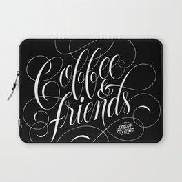 COFFEE & FRIENDS Laptop Sleeve