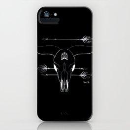 SKULL BUFFLE INDIEN iPhone Case