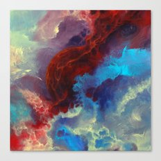 Everything begins with a spark Canvas Print