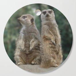 Meerkats: Best Friends Forever Cutting Board