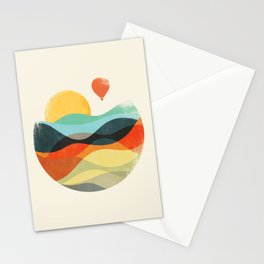 Let the world be your guide Stationery Cards