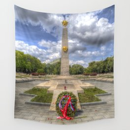 Russian War Memorial Budapest Wall Tapestry