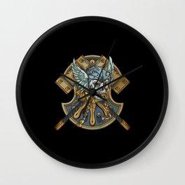 Viking Wall Clock