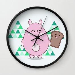 Mr Floof Wall Clock
