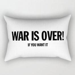 War Is Over - Landscape Rectangular Pillow
