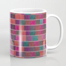 """Full Color Squares Pattern"" Coffee Mug"