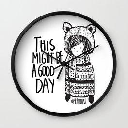 Teddy Bear Boy  Wall Clock