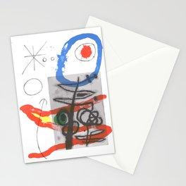 Joan Miro - Peintures Sur Cartons II Stationery Cards