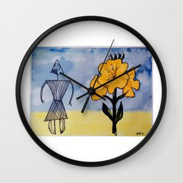 Mic Mac Indian Legend   CANADA                         by Kay Lipton Wall Clock