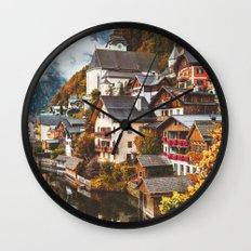 Hallstatt. Wall Clock