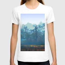 Skragley Oak Trees in the Laguna de Santa Rosa, Sonoma County, California T-shirt
