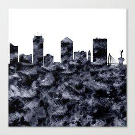 Wichita Skyline Kansas Canvas Print