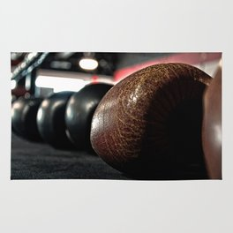 Boxing Gloves - © Doc Braham; All Rights Reserved Rug