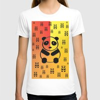 pandas T-shirts featuring Pandas by Gaspar Avila